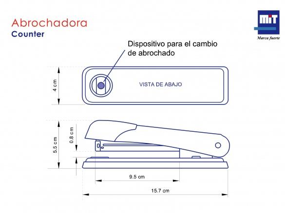 Abrochadora Counter